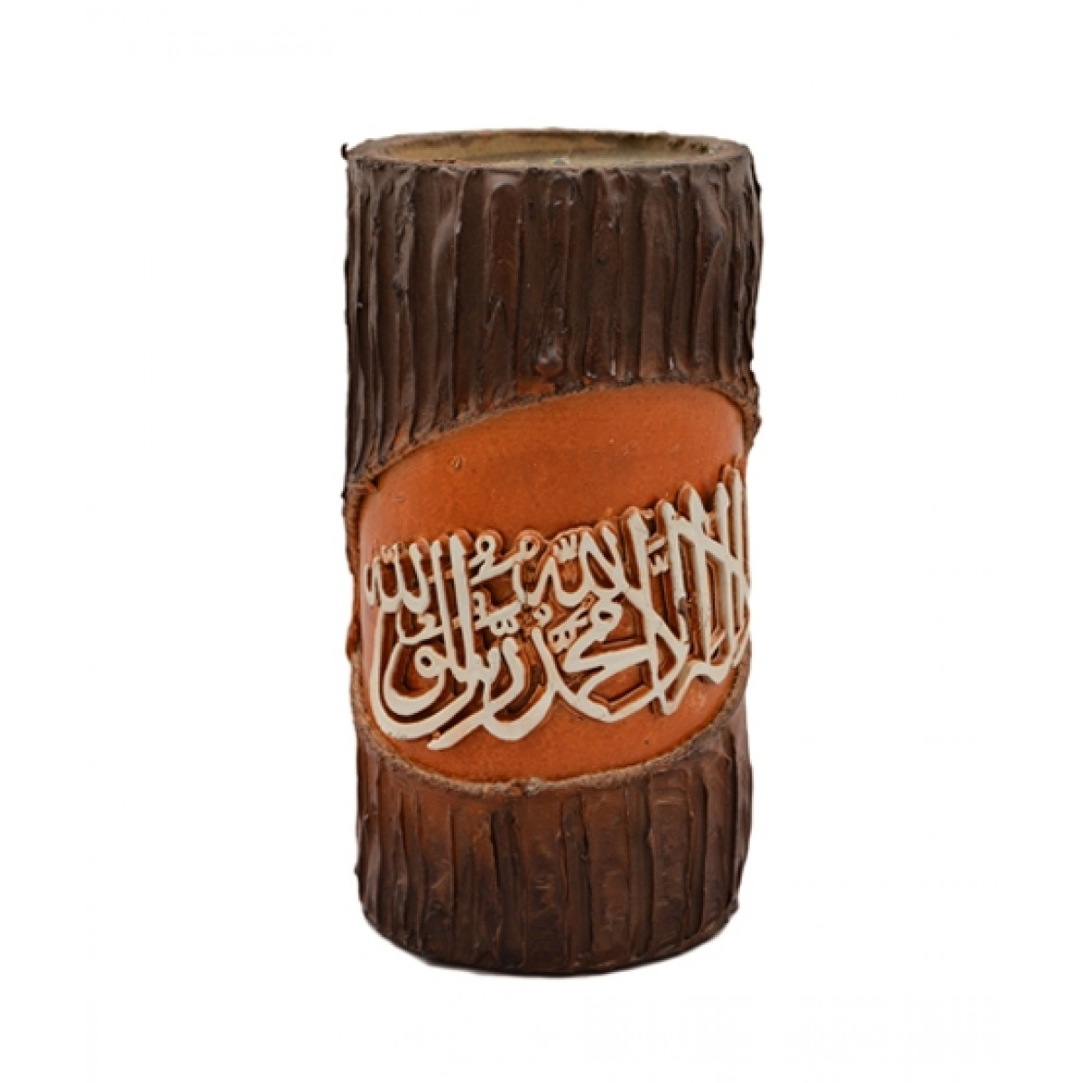 Asaan Buy Wooden Calligraphic Candle (F-222)