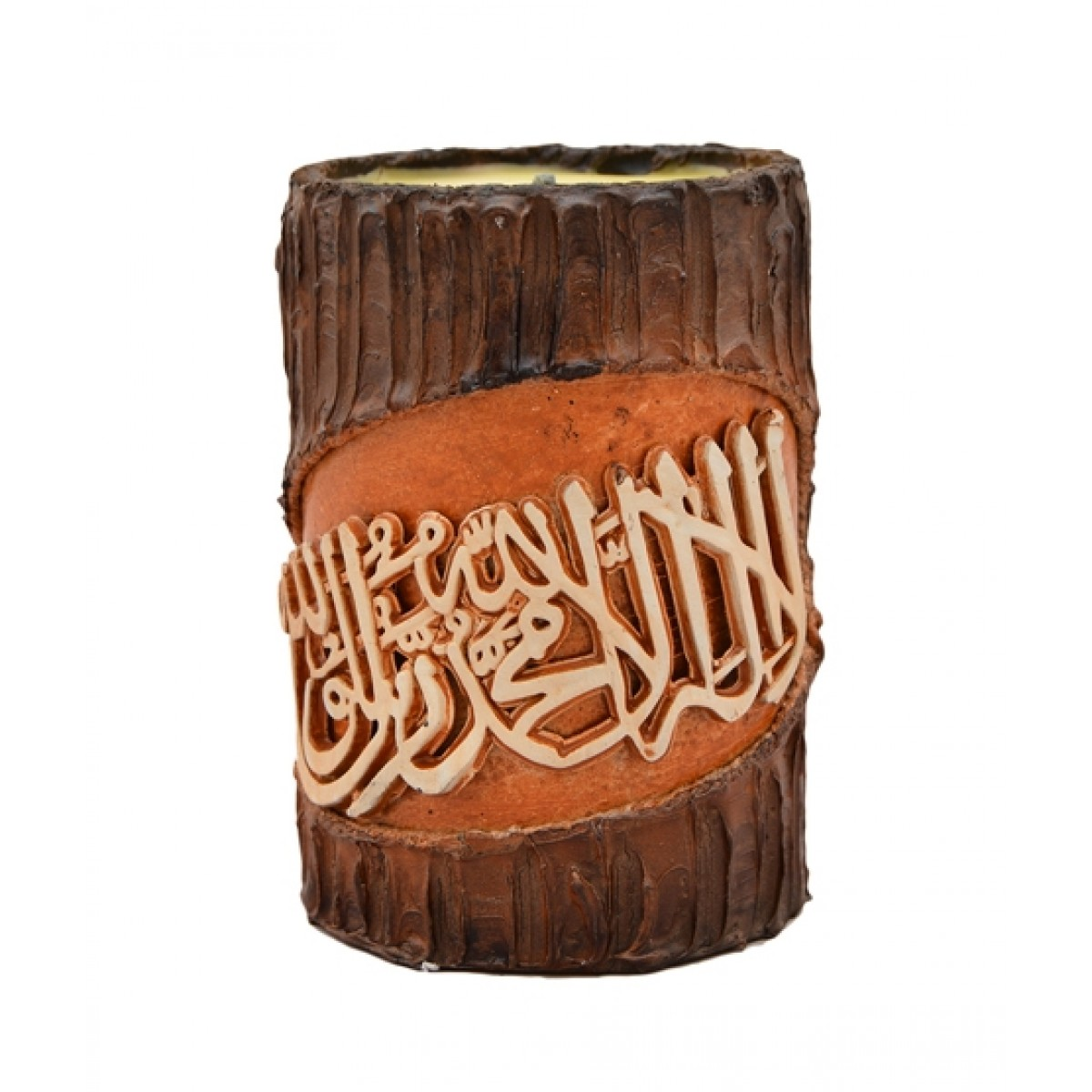 Asaan Buy Wooden Calligraphic Candle (F-226)