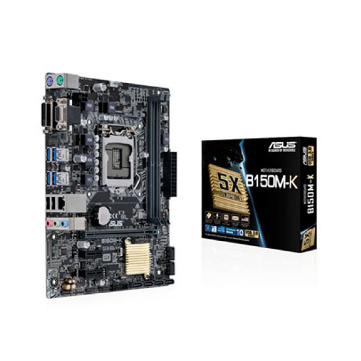 Asus 6th Generation Intel Motherboard (B150M-K - LGA 1151)
