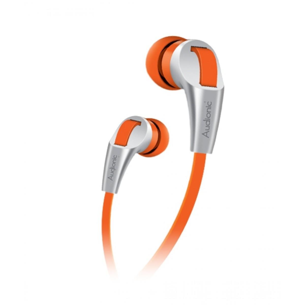 Audionic Thunder In-Ear Earphone Orange (T-30)