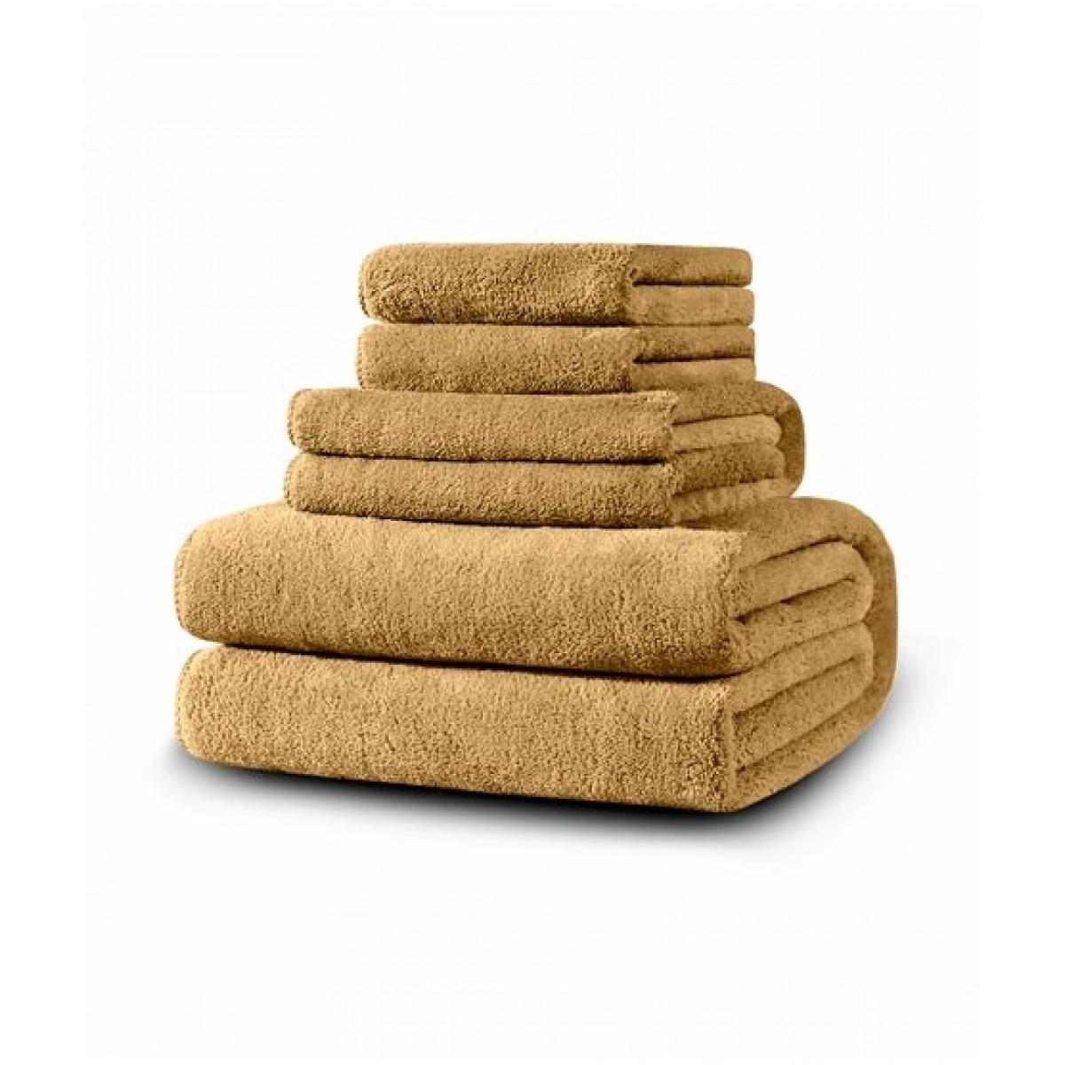 SoftSiesta Luxury Towel Beige Pack of 06