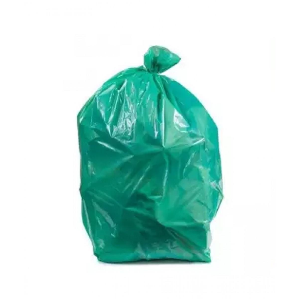 Az-Zahra Garbage Bags Green 18 X 24