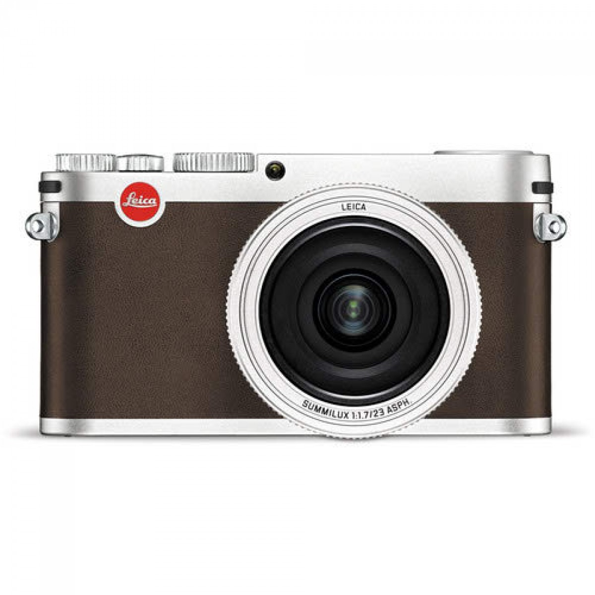 Leica Digital Compact Camera Silver (Typ-113) with Summilux 23mm f/1 7 ASPH  Lens