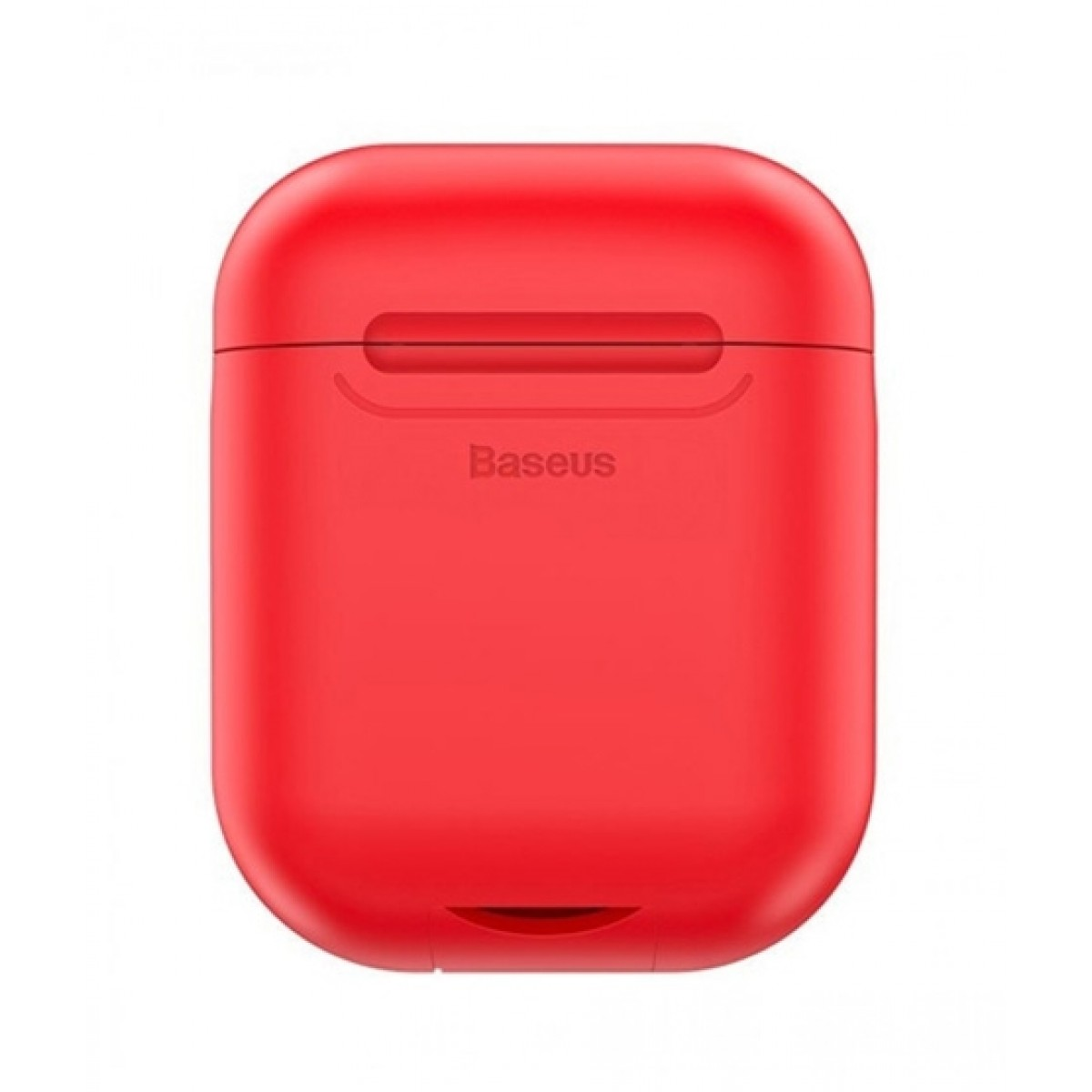Baseus Wireless 5V/1A Charging Case For Airpods Red