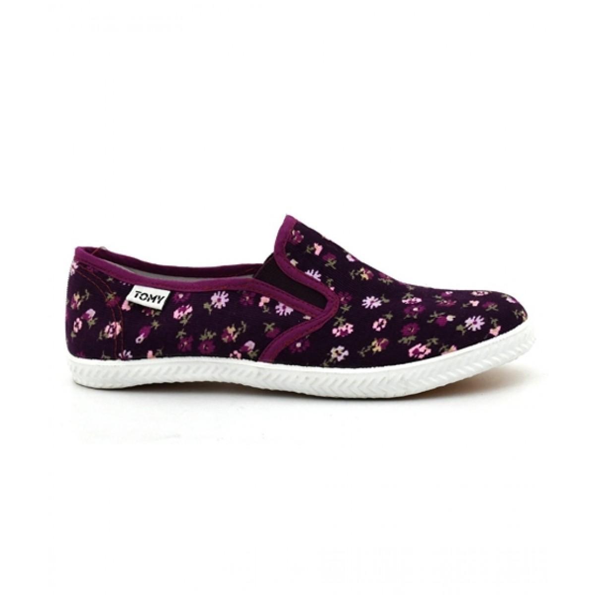 Bata Tommy Takkies Shoes For Women Purple (589-5076)