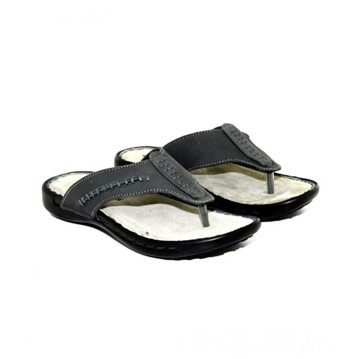 Bata Weinbrenner Slippers For Men Black (463-6893)