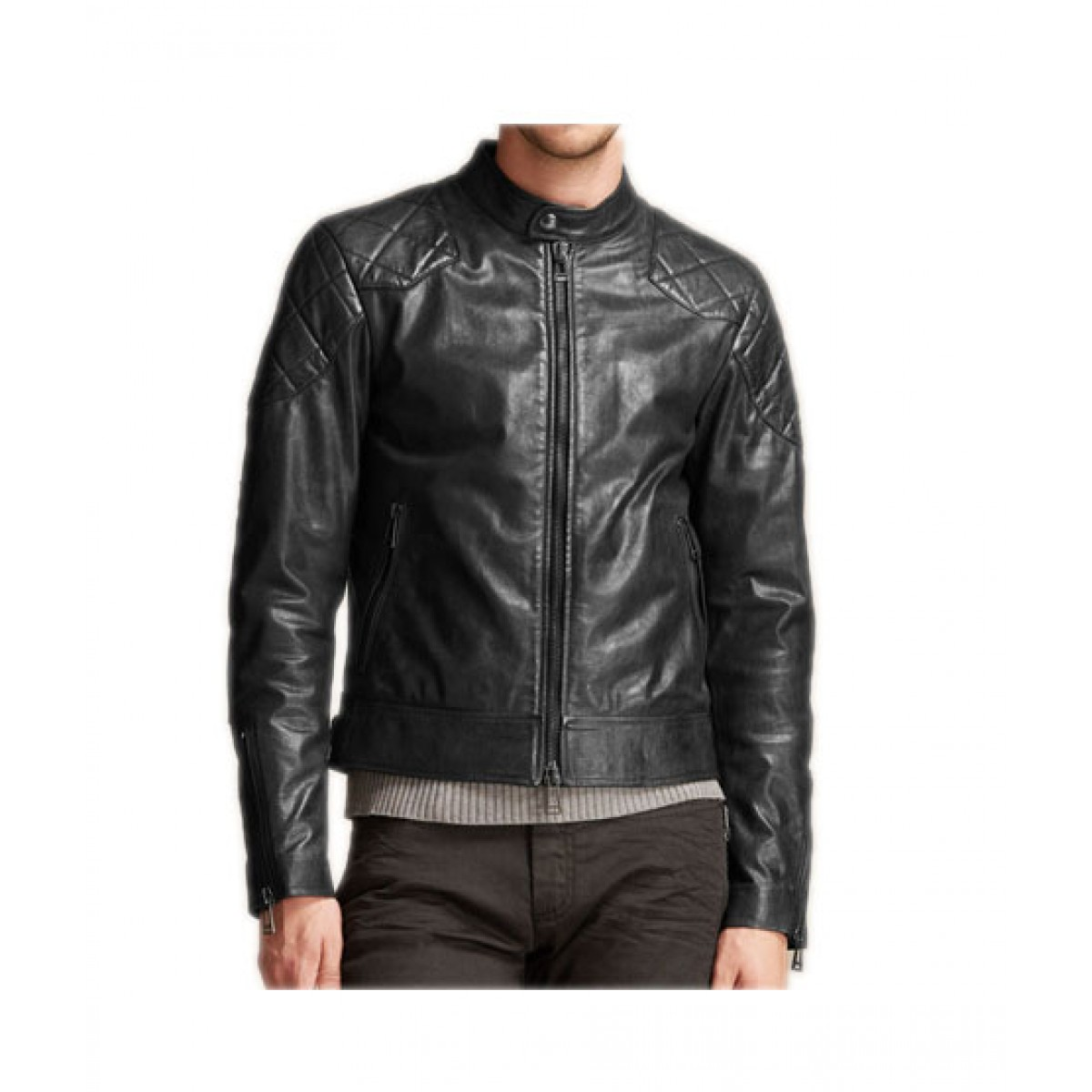 Belstaff Outlaw Jacket In Light Handwaxed Leather