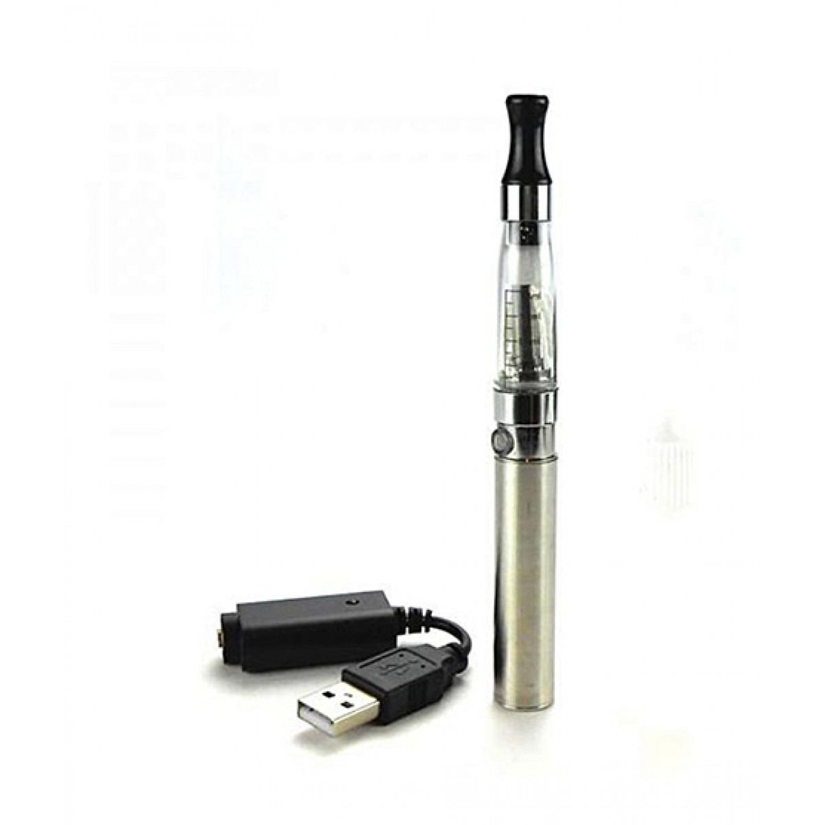 Brand Mall Electronic Pen Shisha With Liquid - Silver