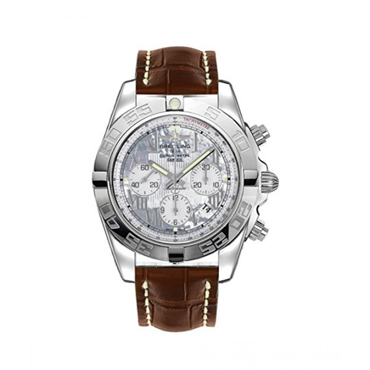 Breitling Chronomat 44 Men's Watch Brown (AB011012/A691-739P)