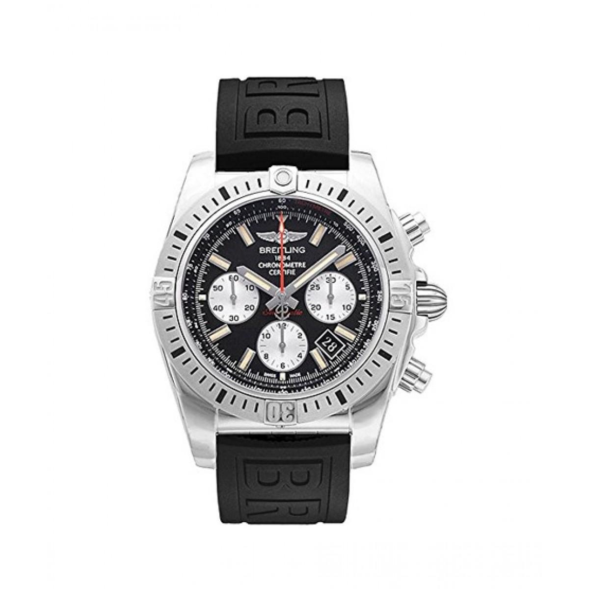 Breitling Chronomat Men's Watch Black (AB01154G/BD13-152S)
