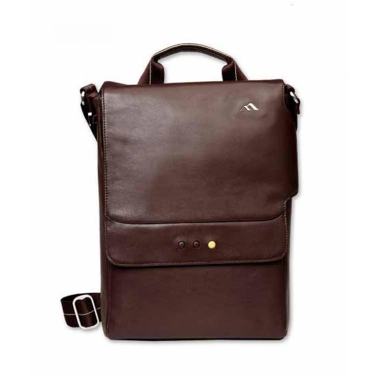 Brenthaven Mercer Vertical Messenger Bag for 13-inch MacBook Pro Leather (2324)