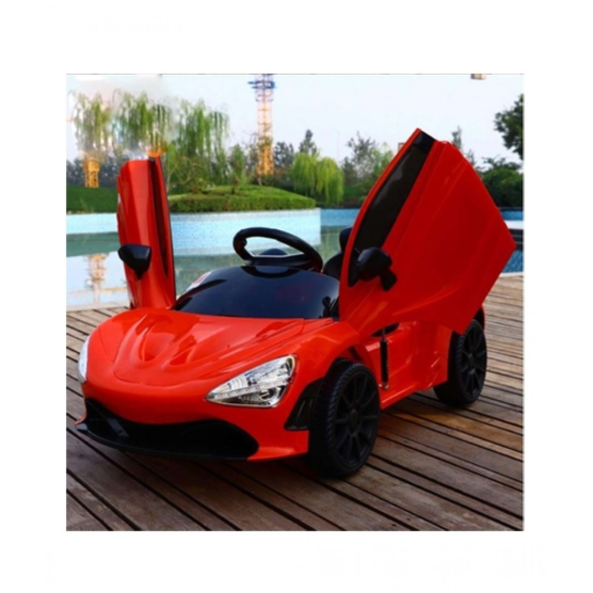 Btl Toys Ride On Sports Car Price In Pakistan Buy Btl Toys Electric Ride On Sports Car For Kids Red 7200s Ishopping Pk