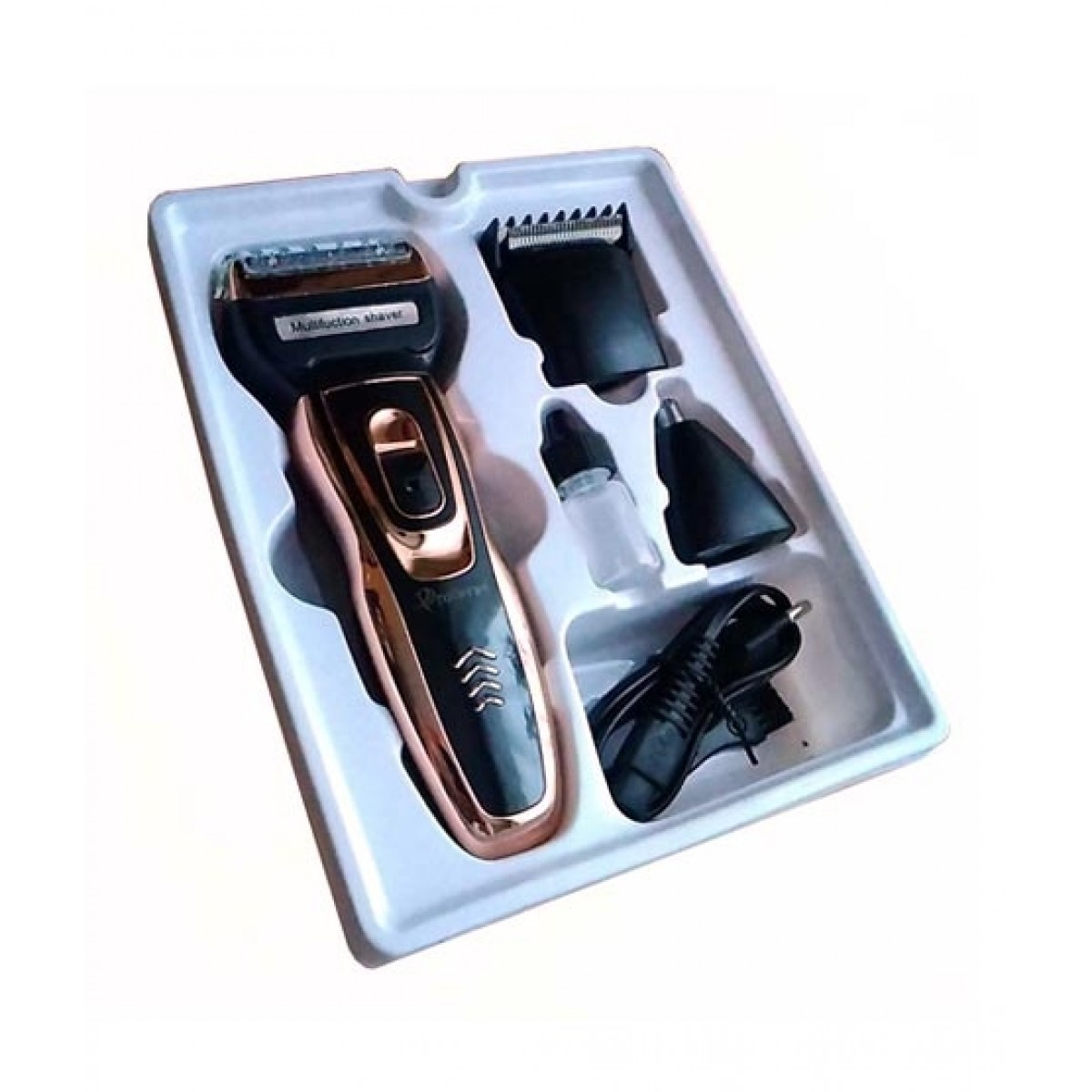 Gemei 3 In 1 Rechargeable Shaver & Hair Trimmer (GM 595)