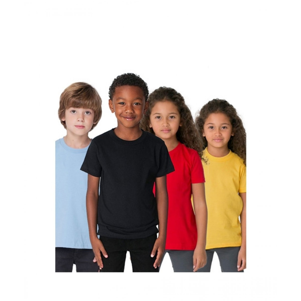 039a4643 C-Tees Pack Of 4 T-Shirt For Kids Price in Pakistan | Buy C-Tees Plain T- Shirt Multi (CKT10062) | iShopping.pk