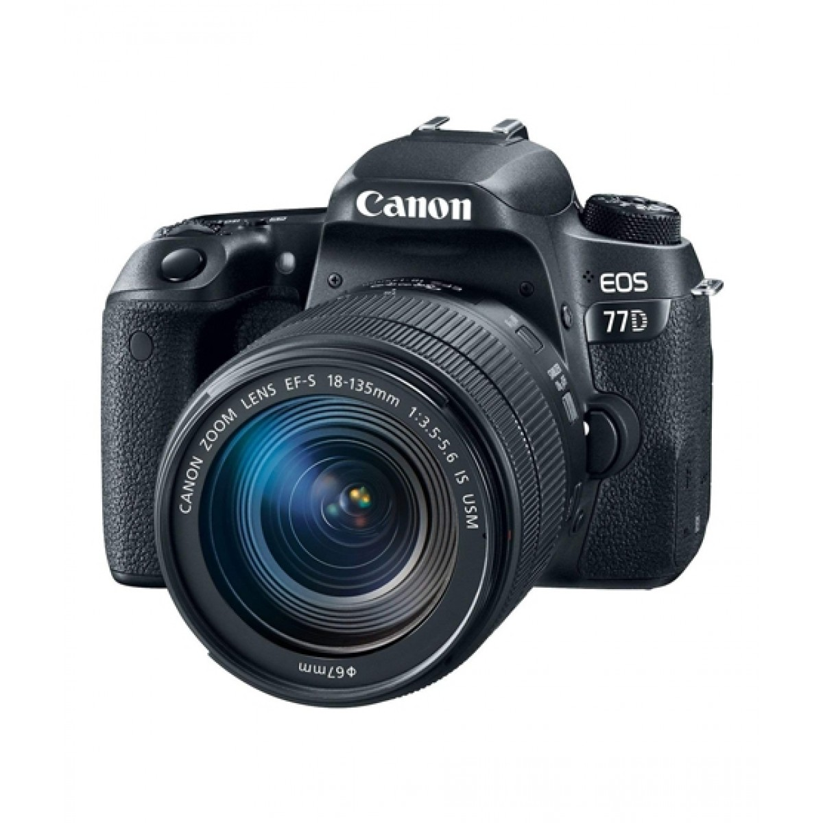 Canon EOS 77D DSLR Camera With 18-135mm STM Lens - MBM Warranty