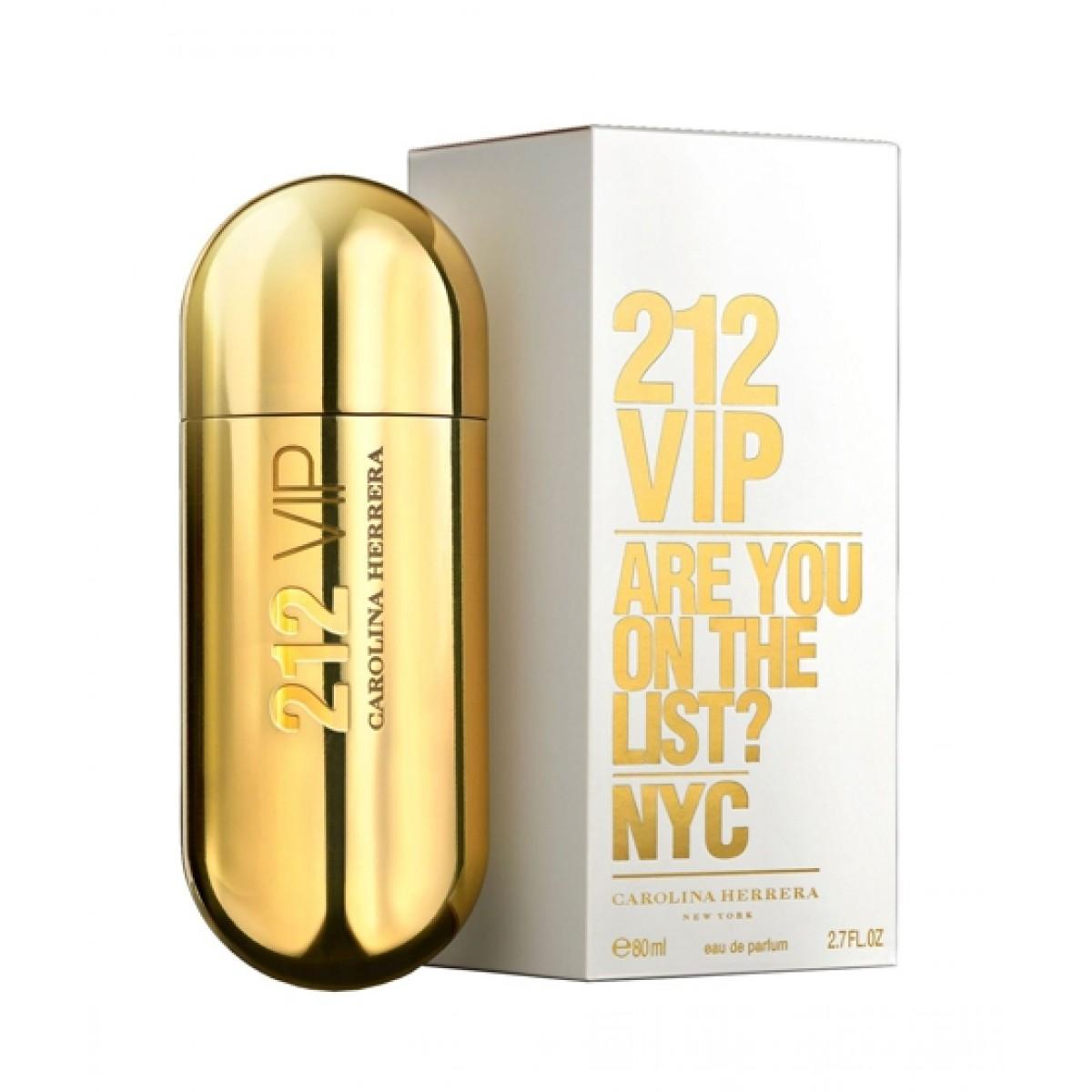 Carolina Herrera 212 VIP Eau De Parfum For Women 80ML