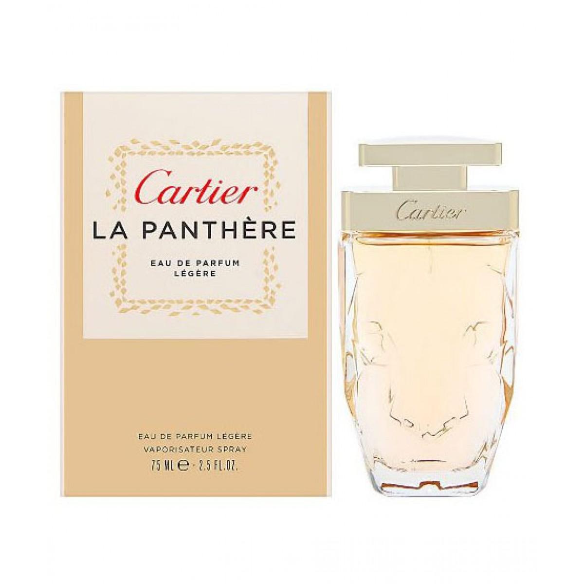 Cartier La Panthere Legere Eau De Parfum For Women 75ml