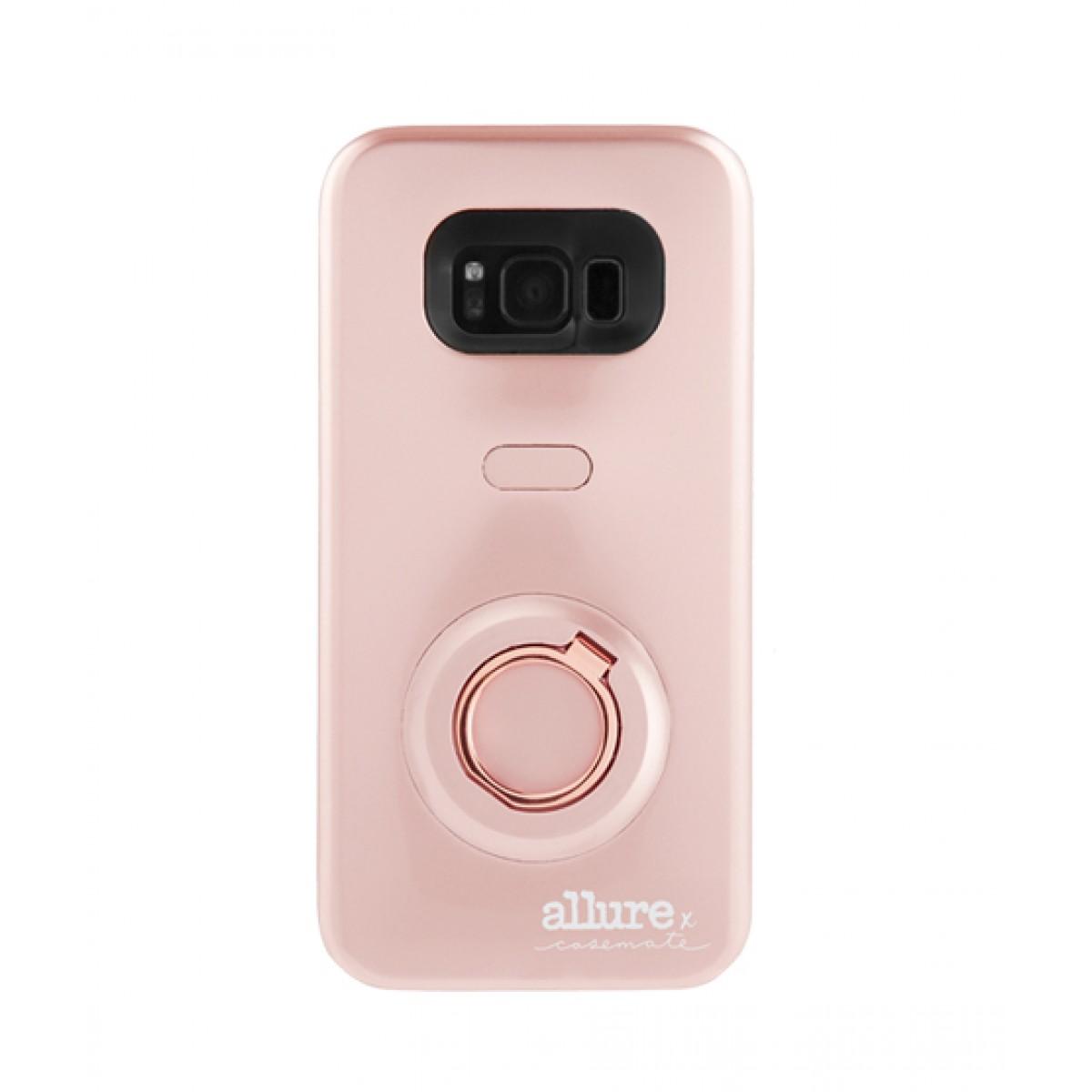 detailed look 6c10d 6ecc6 Case Mate Allure Selfie Rose Gold Case For Galaxy S8