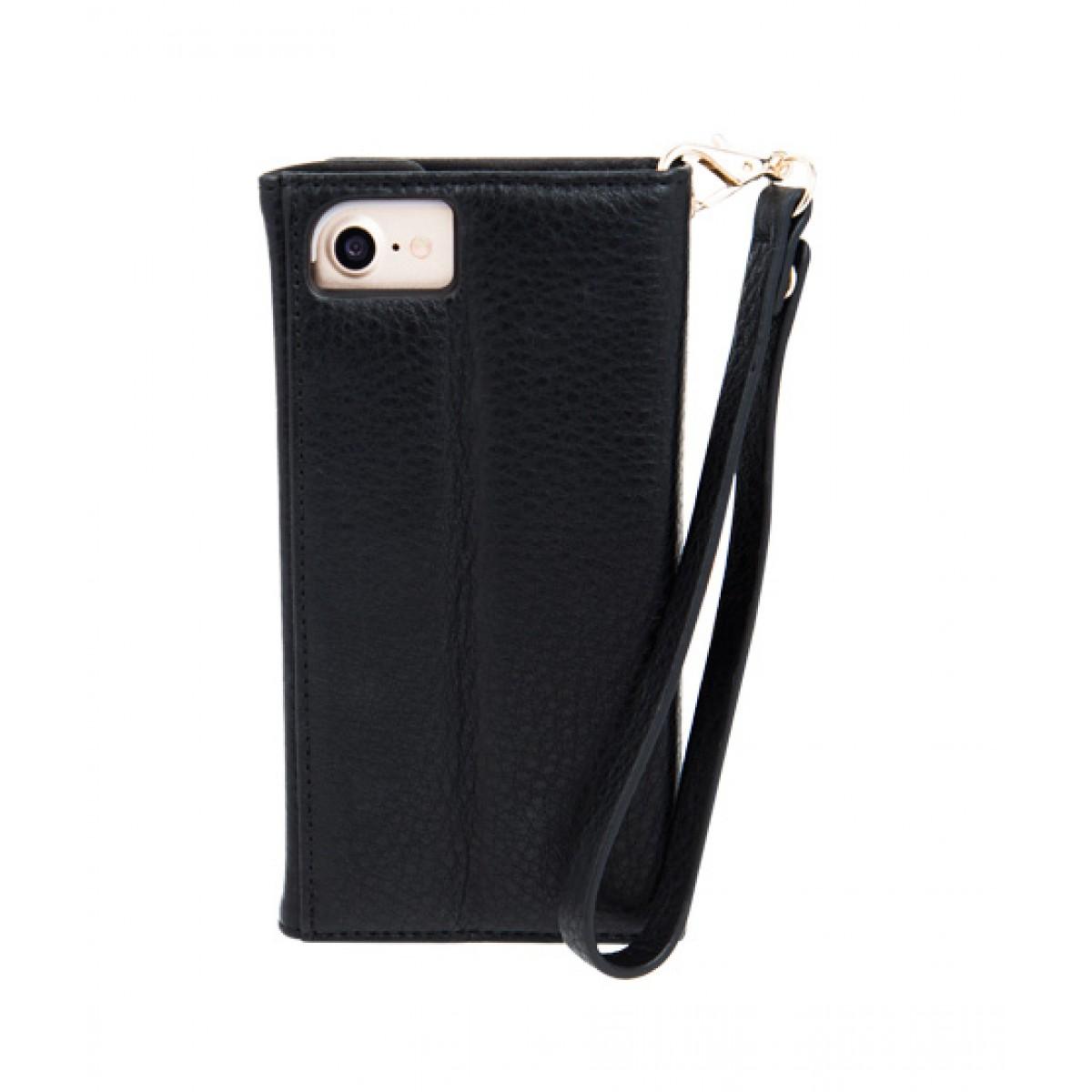best authentic c98ce 8d72c Case Mate Folio Wristlet Case Black For iPhone 7 Plus