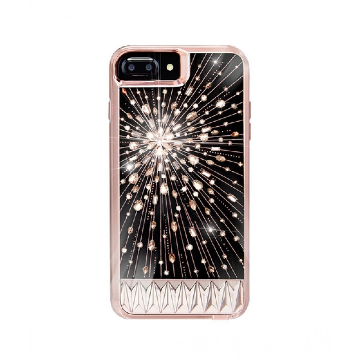 sports shoes 8b4a8 29f85 Case Mate Luminescent Rose Gold Case For iPhone 8 Plus