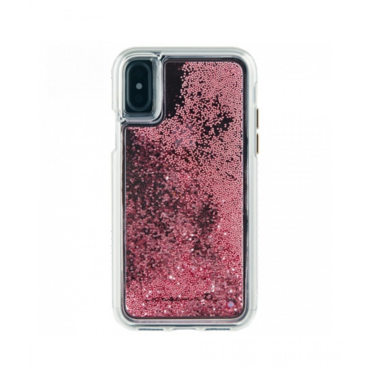 premium selection fba6d e456b Case Mate Waterfall Rose Gold Case For iPhone X/XS
