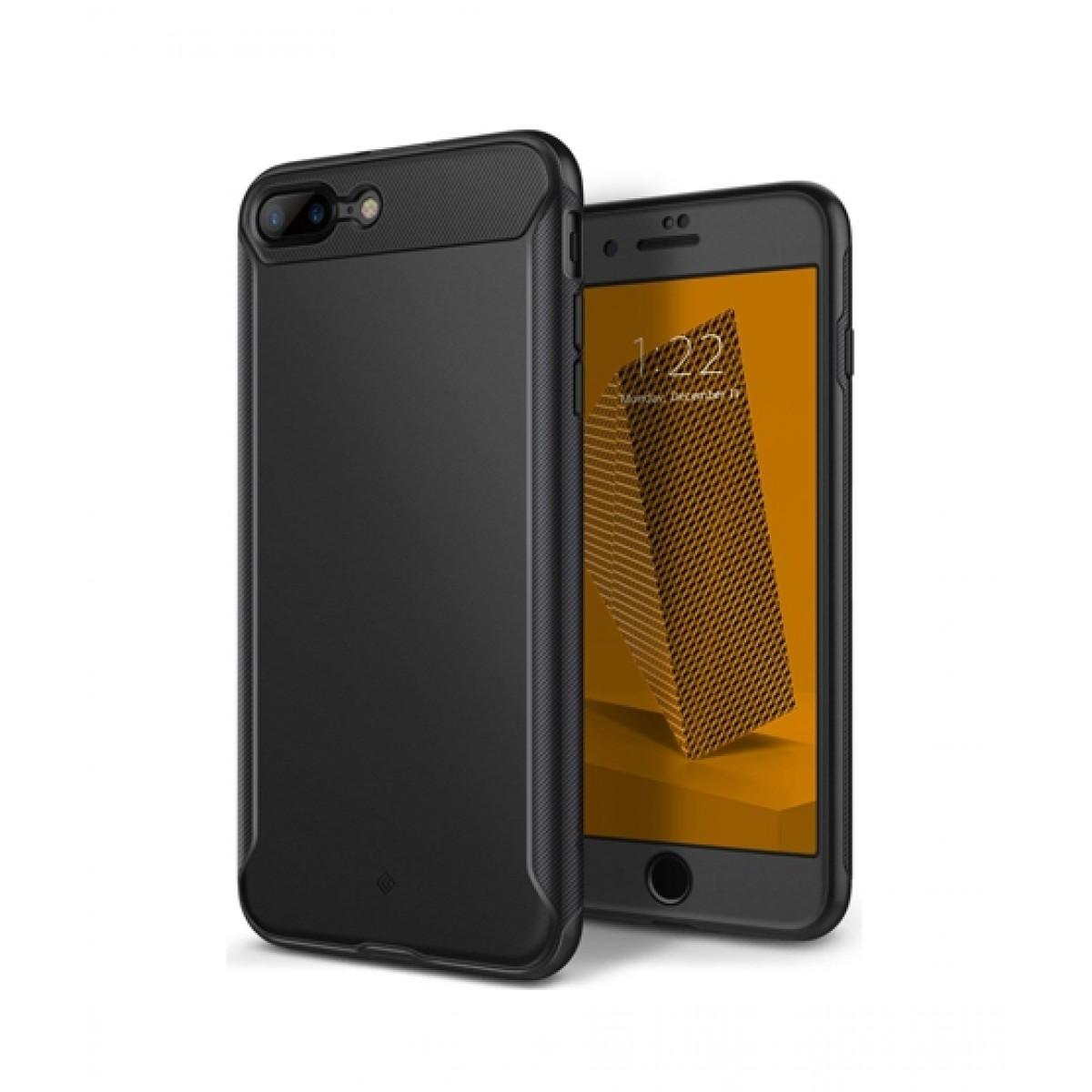 buy online 48cd4 e5697 Caseology Nero Slim Black Case For iPhone 8 Plus