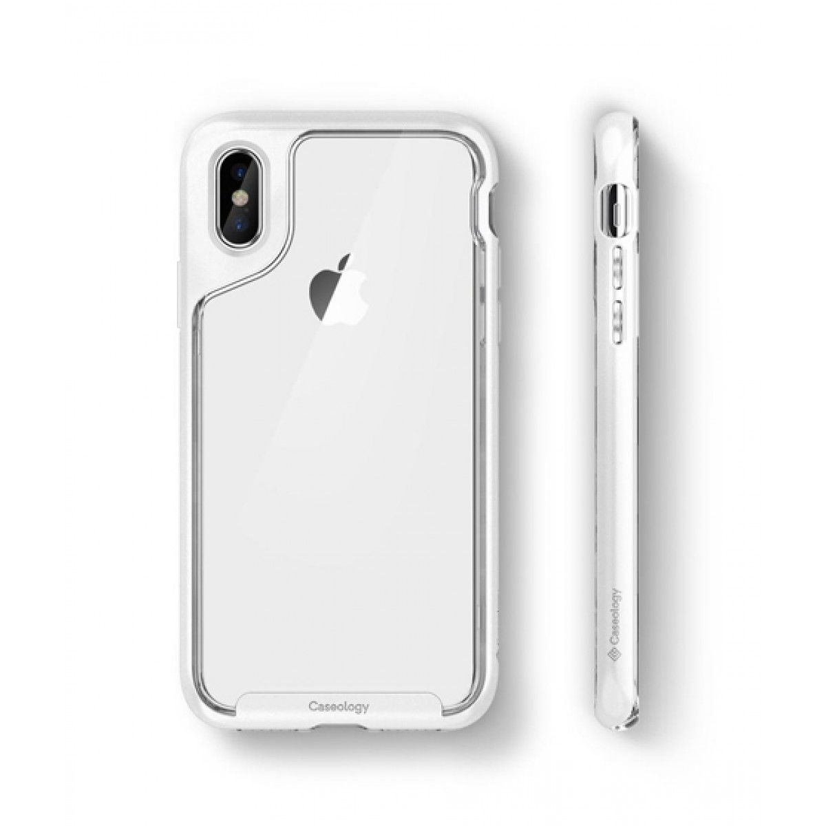 new styles 6226d 87bea Caseology Skyfall Silver Case For iPhone XS