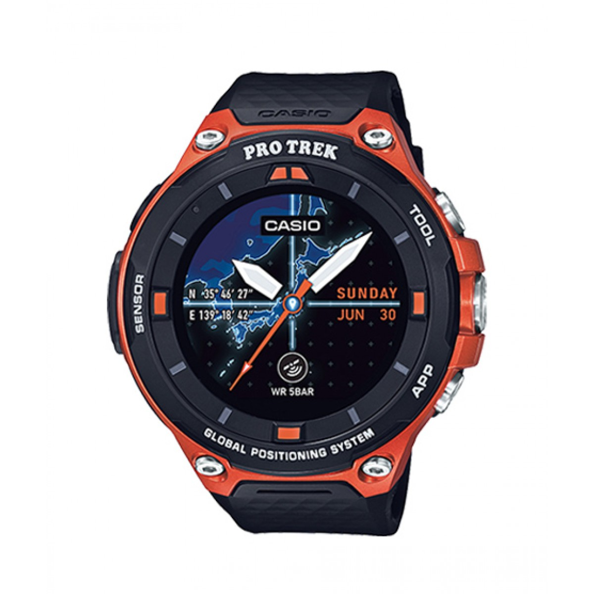 Casio Pro Trek Men's Watch (WSD-F20RG)