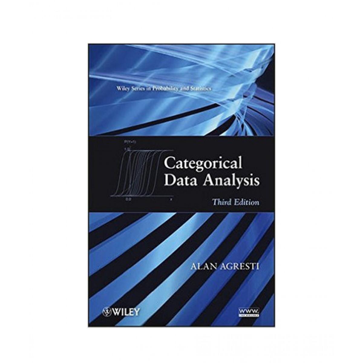 Categorical Data Analysis Book