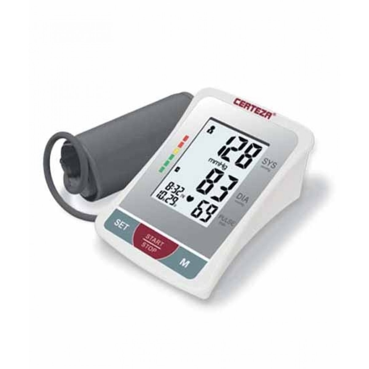 Certeza Arm Digital Blood Pressure Monitor with Adapter (BM-407AD)