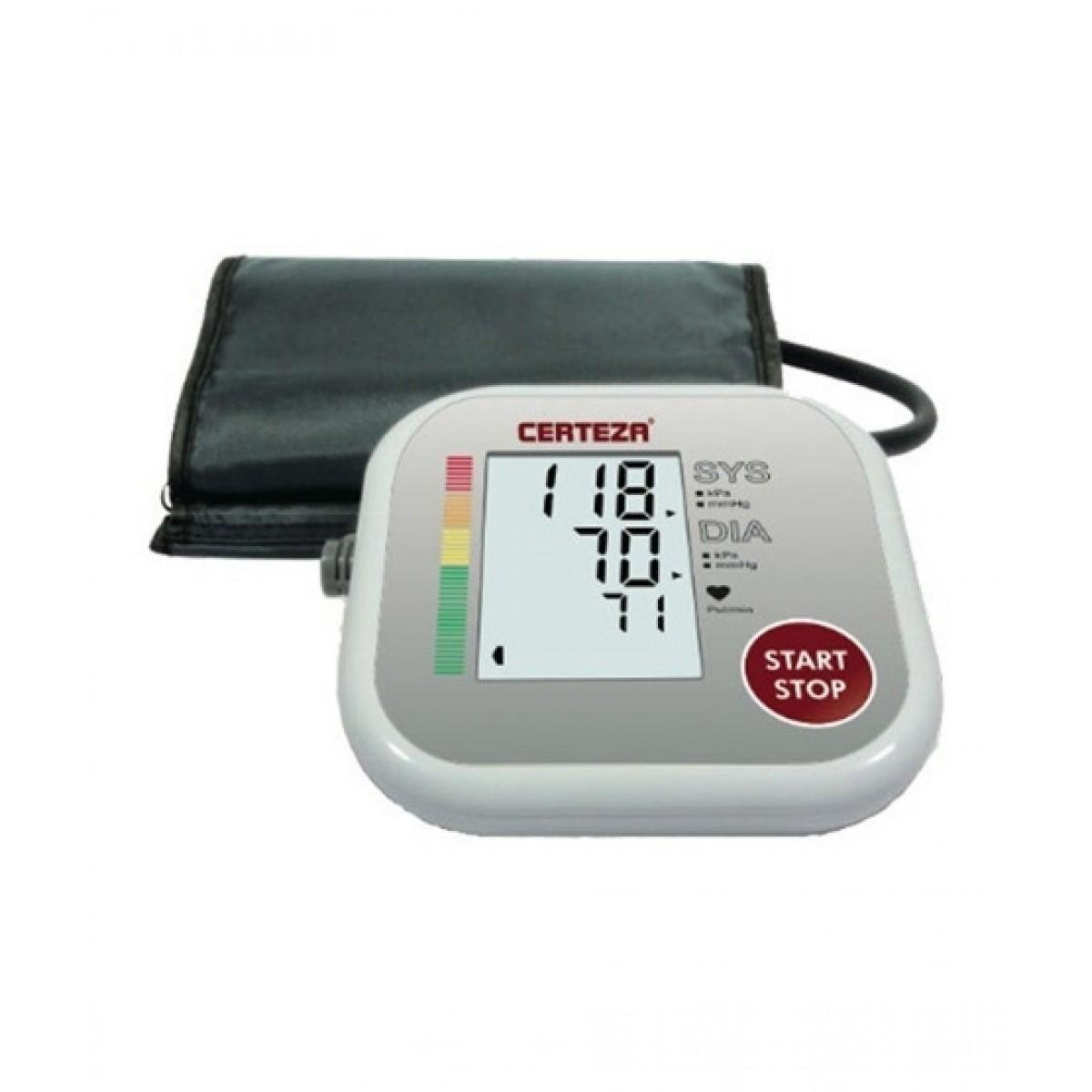 Certeza Upper Arm Digital Blood Pressure Monitor With Adapter (BM-405AD)