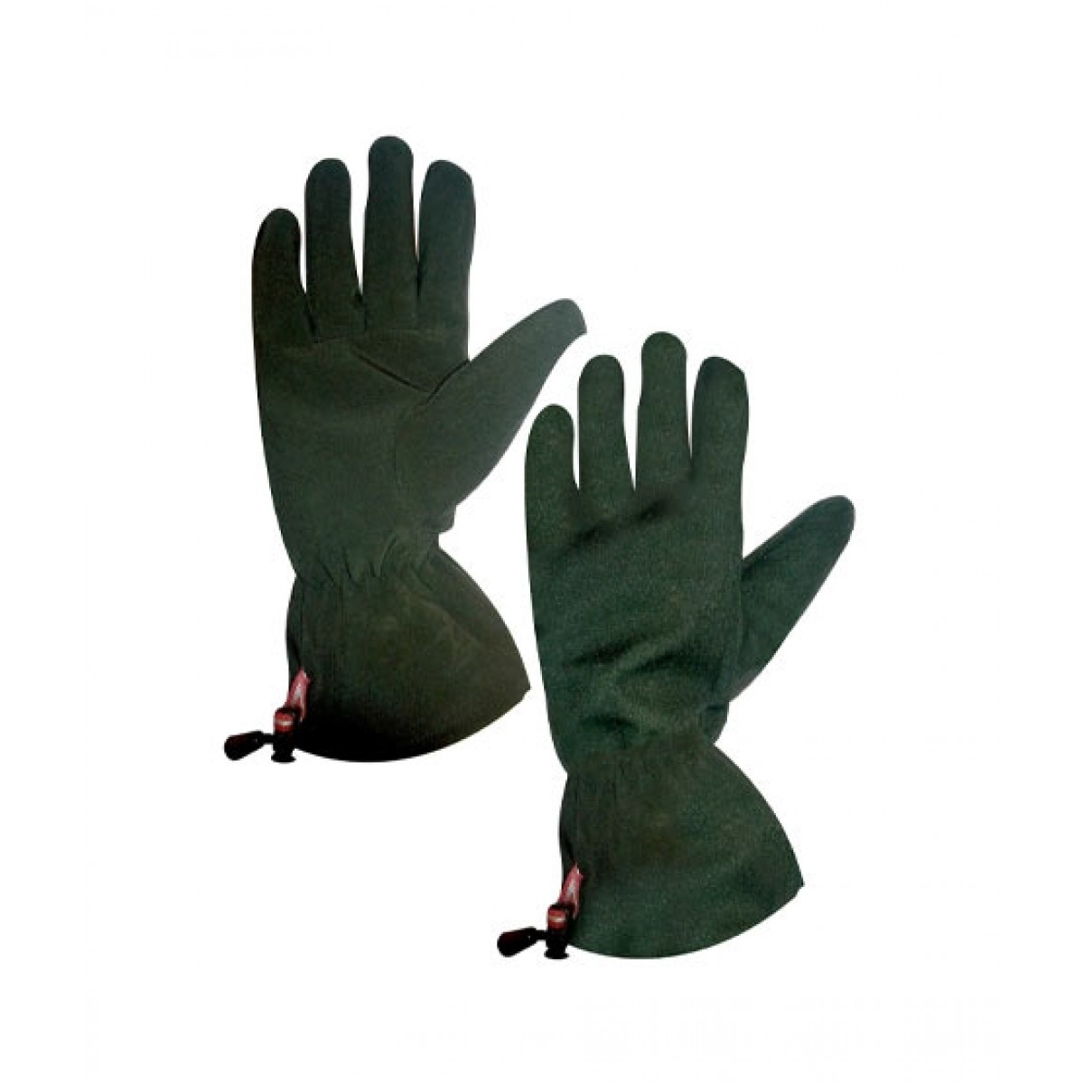 World of Promotions Fleece Hiking Gloves Green