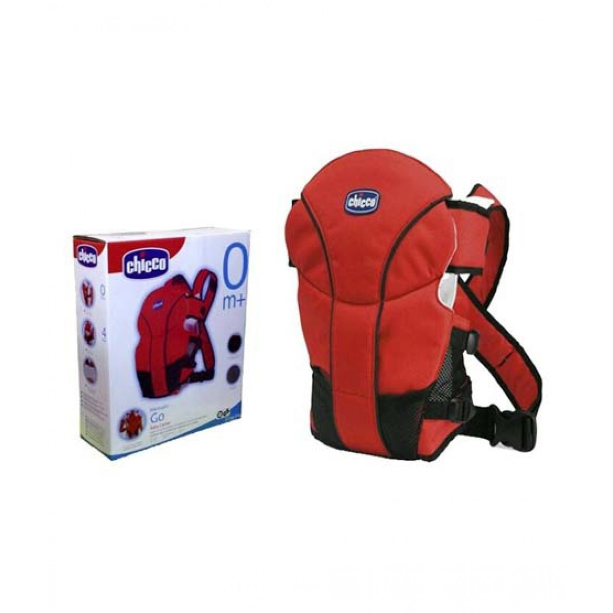 Chicco Go Baby Carrier Red Bl 007