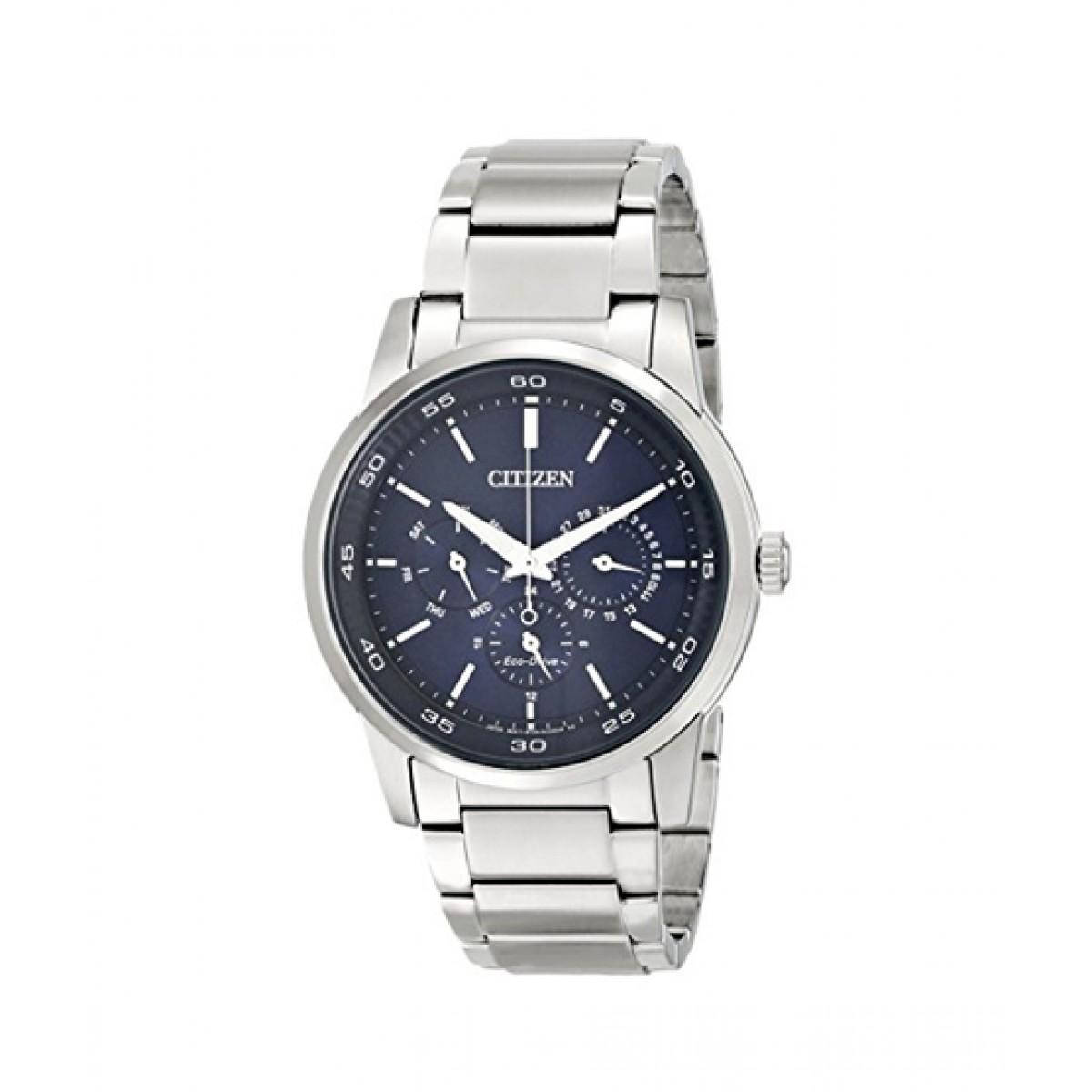 Citizen Eco-Drive Dress Men's Watch Silver (BU2010-57L)