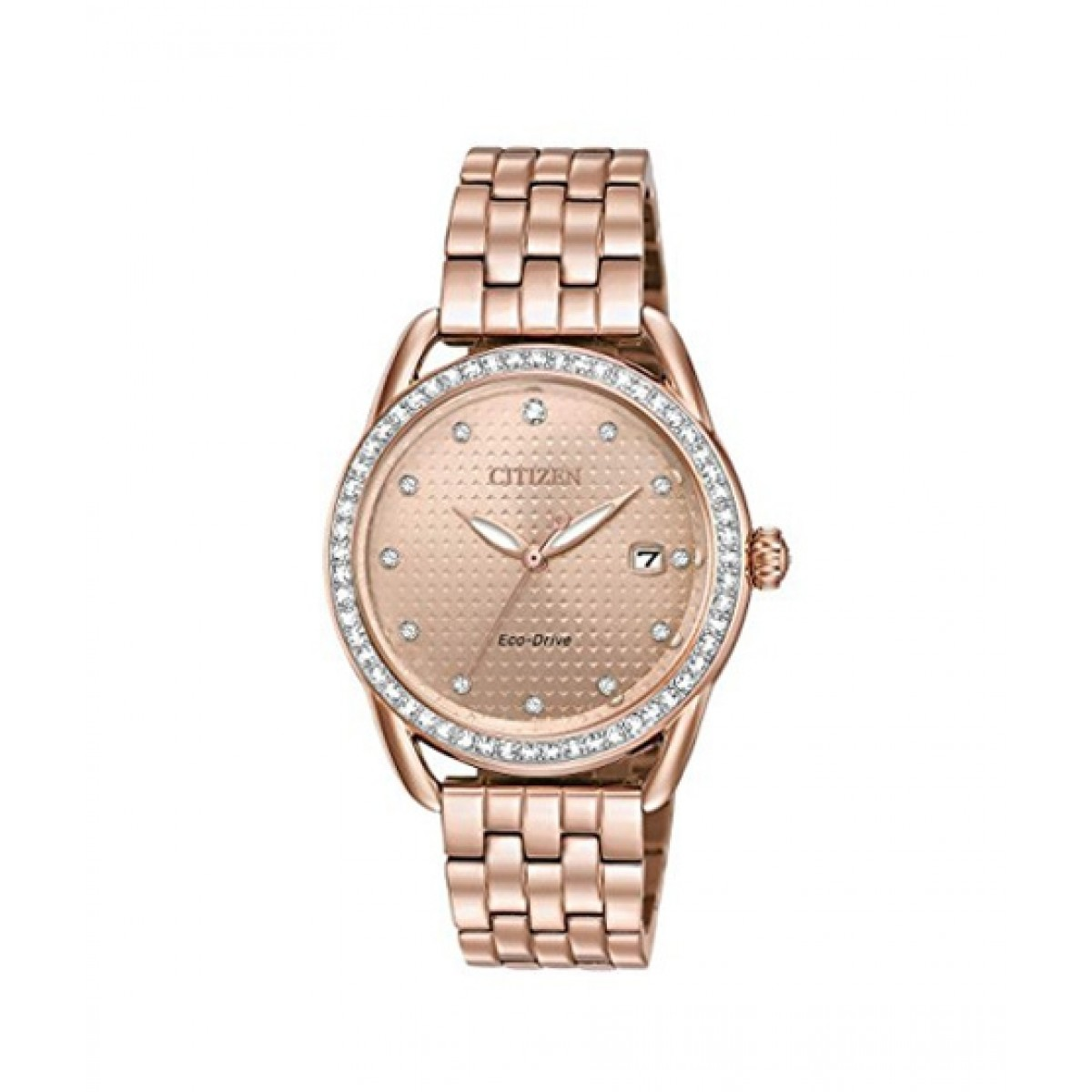 2df67c6399 Citizen Eco-Drive LTR Women's Watch Price in Pakistan | Buy Citizen Women's  Watch Rose Gold (FE6113-57X) | iShopping.pk