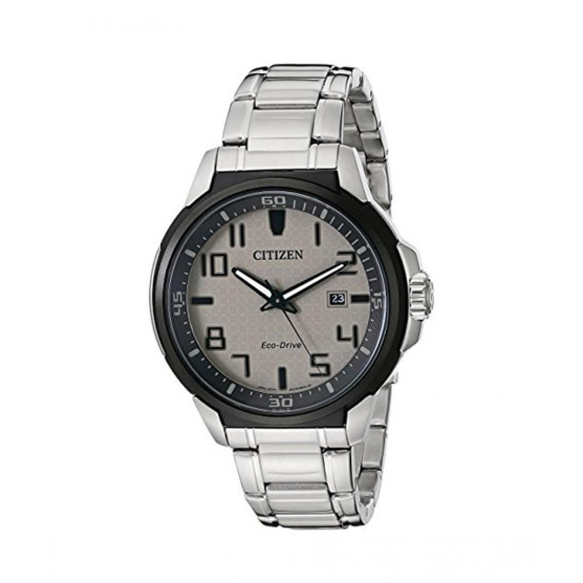 Citizen Eco-Drive Men's Watch Silver (AW1461-58H)