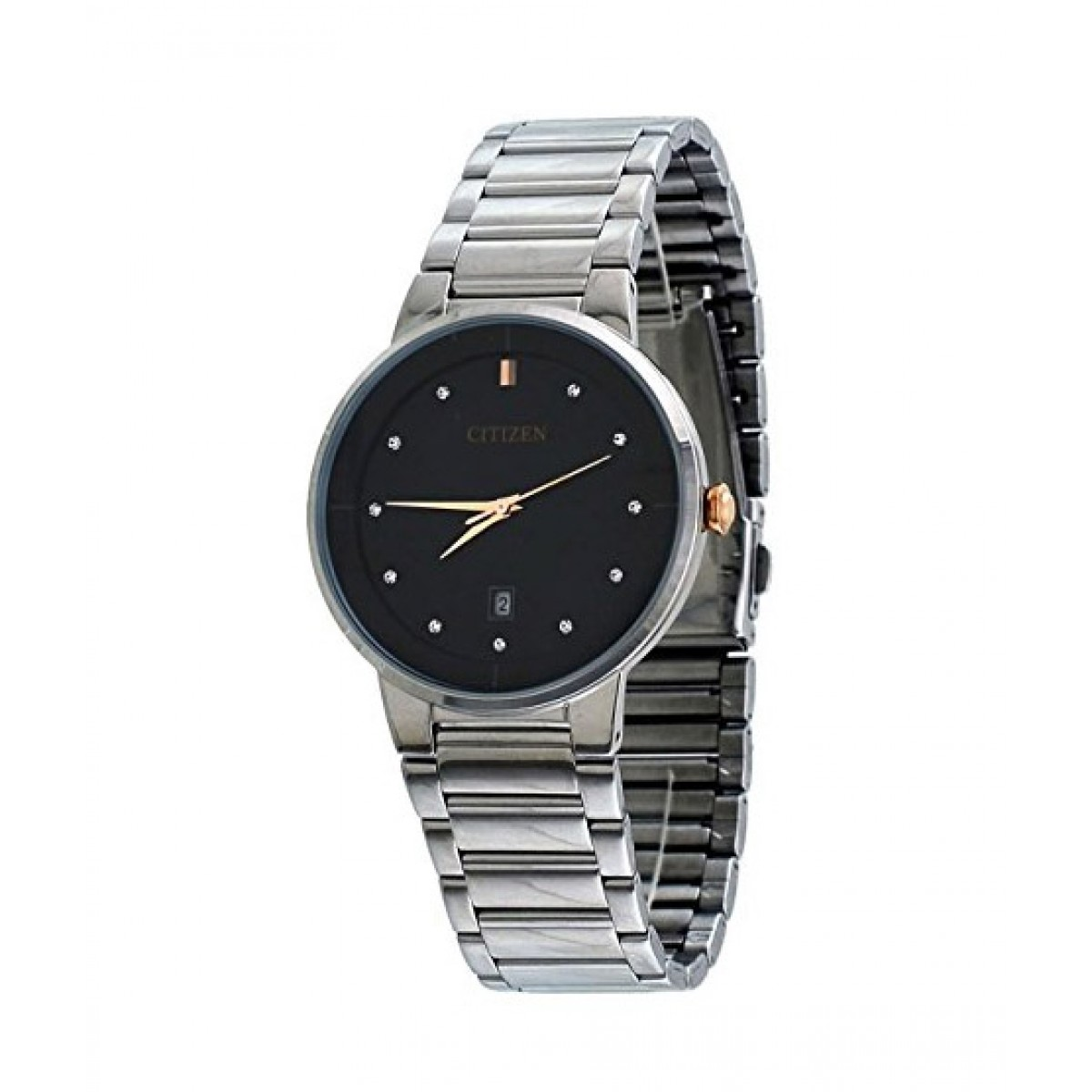 Citizen Quartz Men S Watch Silver Bi5014 58e