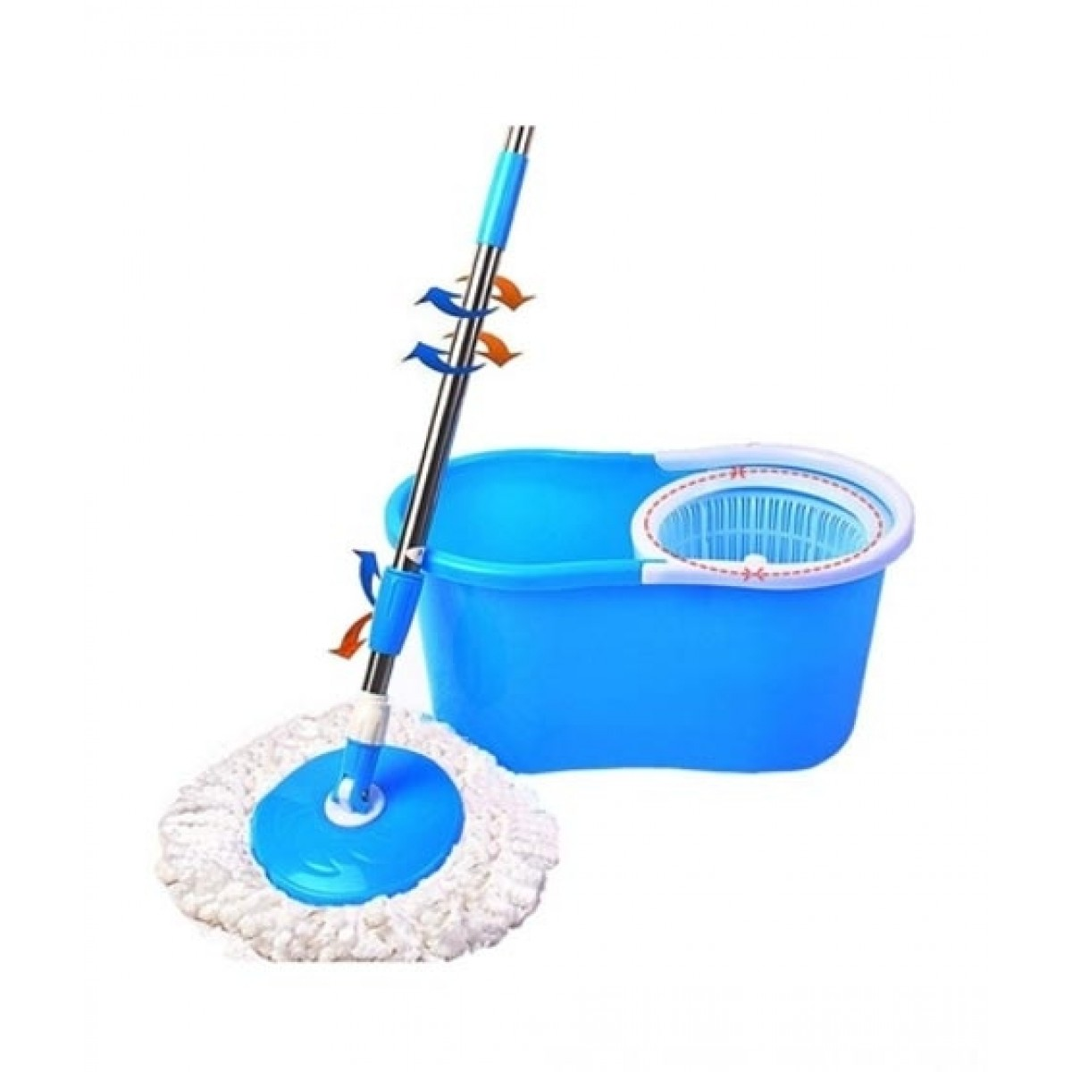 Hatimi Store 360 Degree Microfiber Spin Mop
