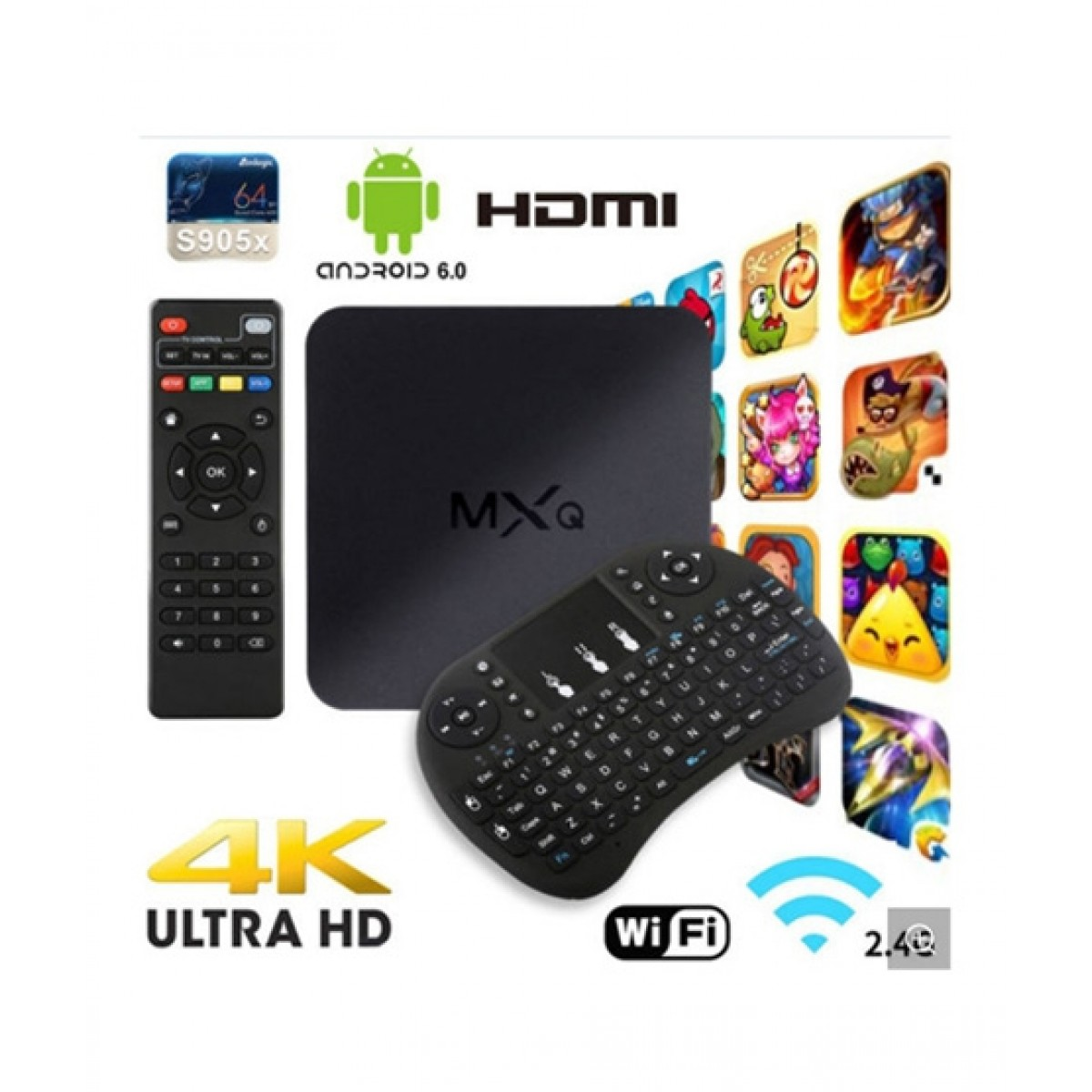 53b7a9f70f8 Cool Boy Mart MXQ 4K Android TV Box Price in Pakistan