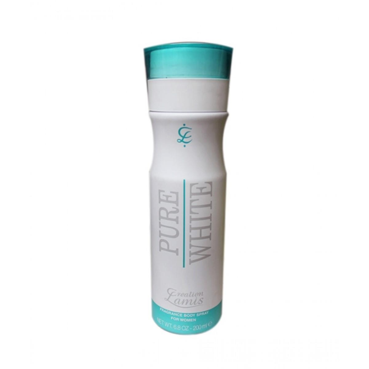 Creation Lamis Pure White Body Spray For Women 200ml