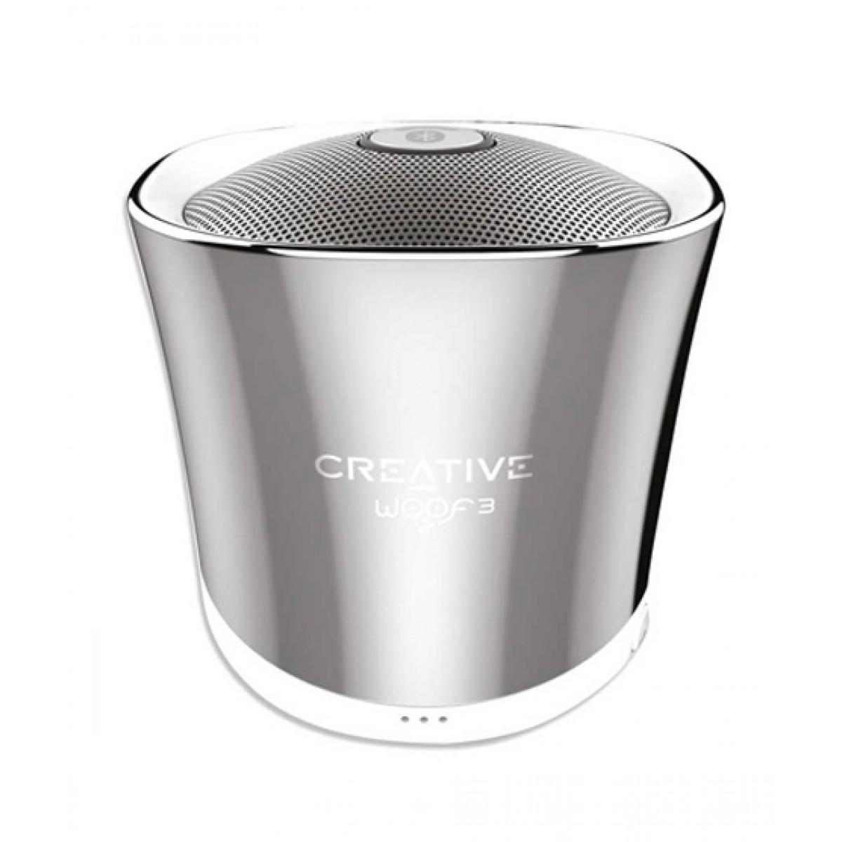 Creative Woof 3 Personal Micro-Sized Bluetooth Speaker
