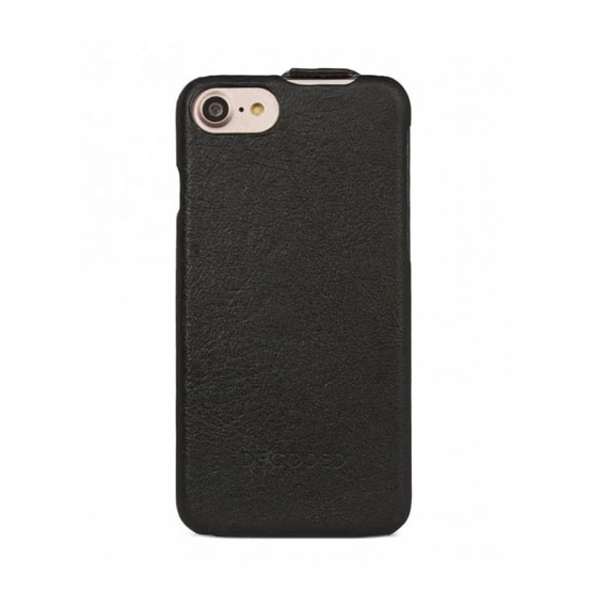 new styles f7579 d1128 Decoded Leather Flip Case For iPhone 8 (D6IPO7FC1BK)