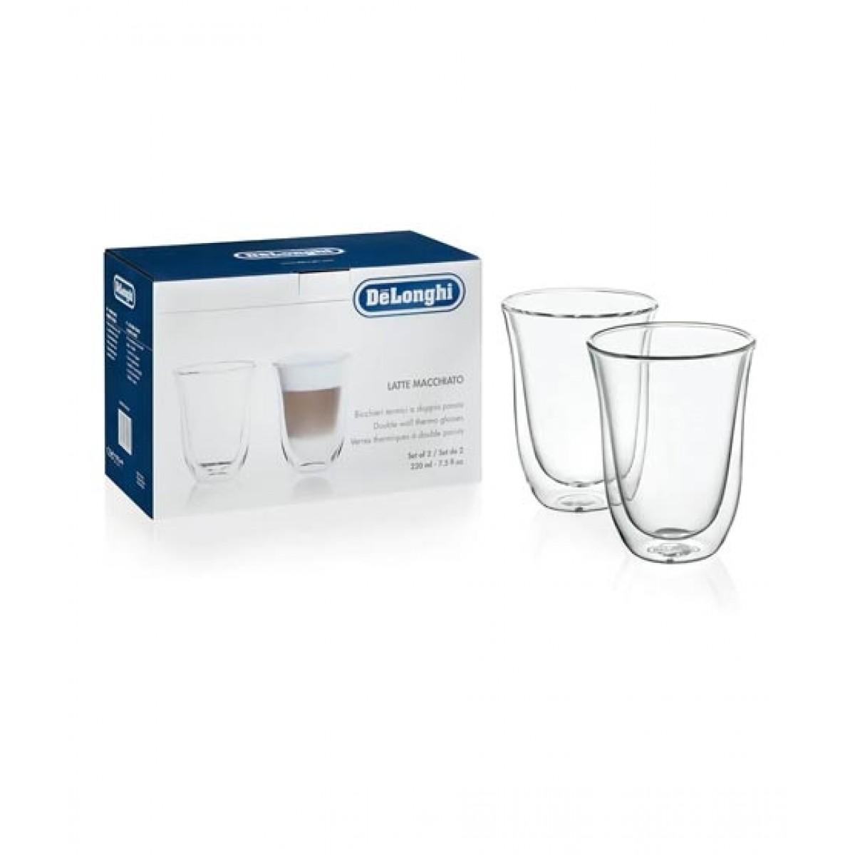 Delonghi Macchiato Glasses - Pack of 2