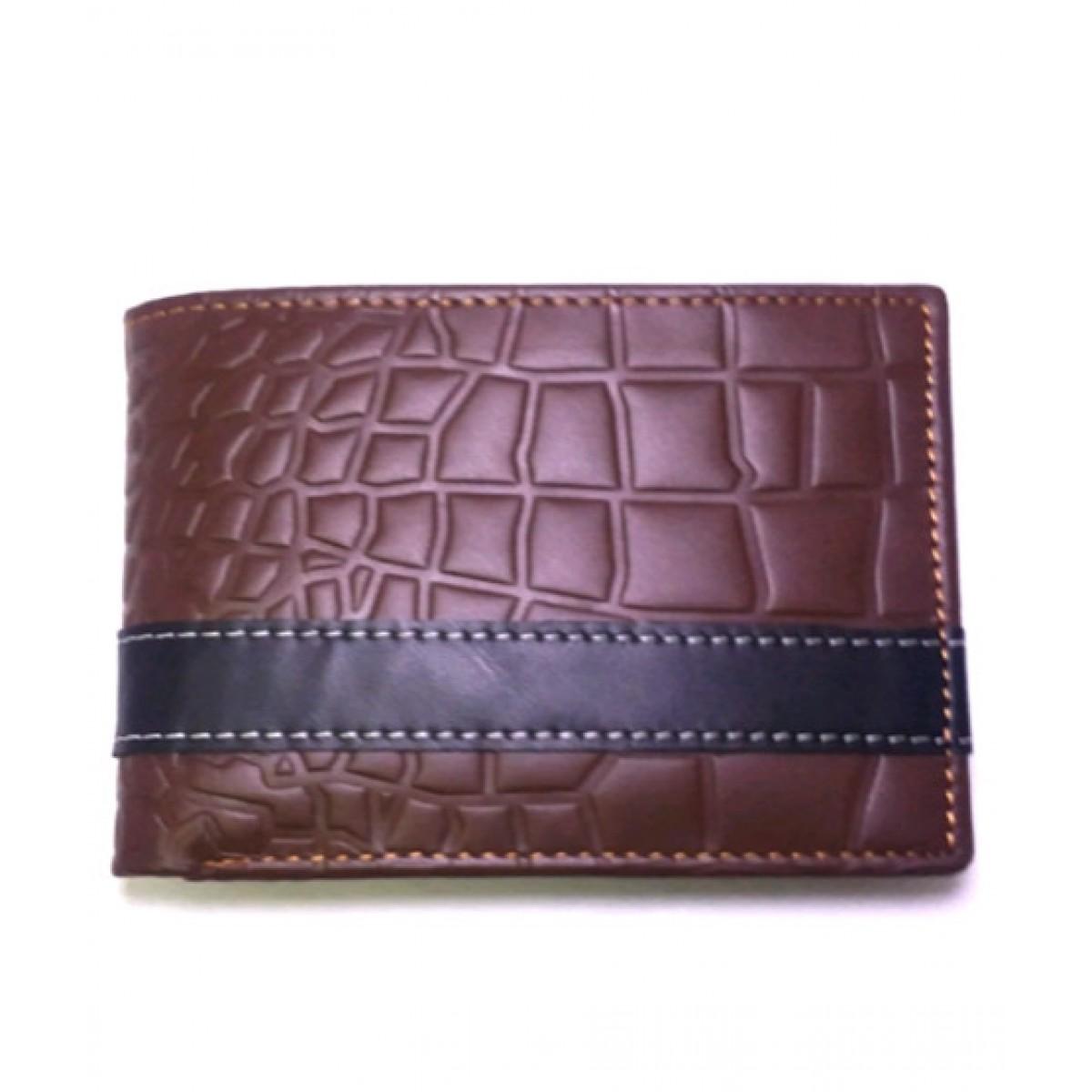 Desire Fashion Leather Wallet For Men Dark Brown (XL-0003)