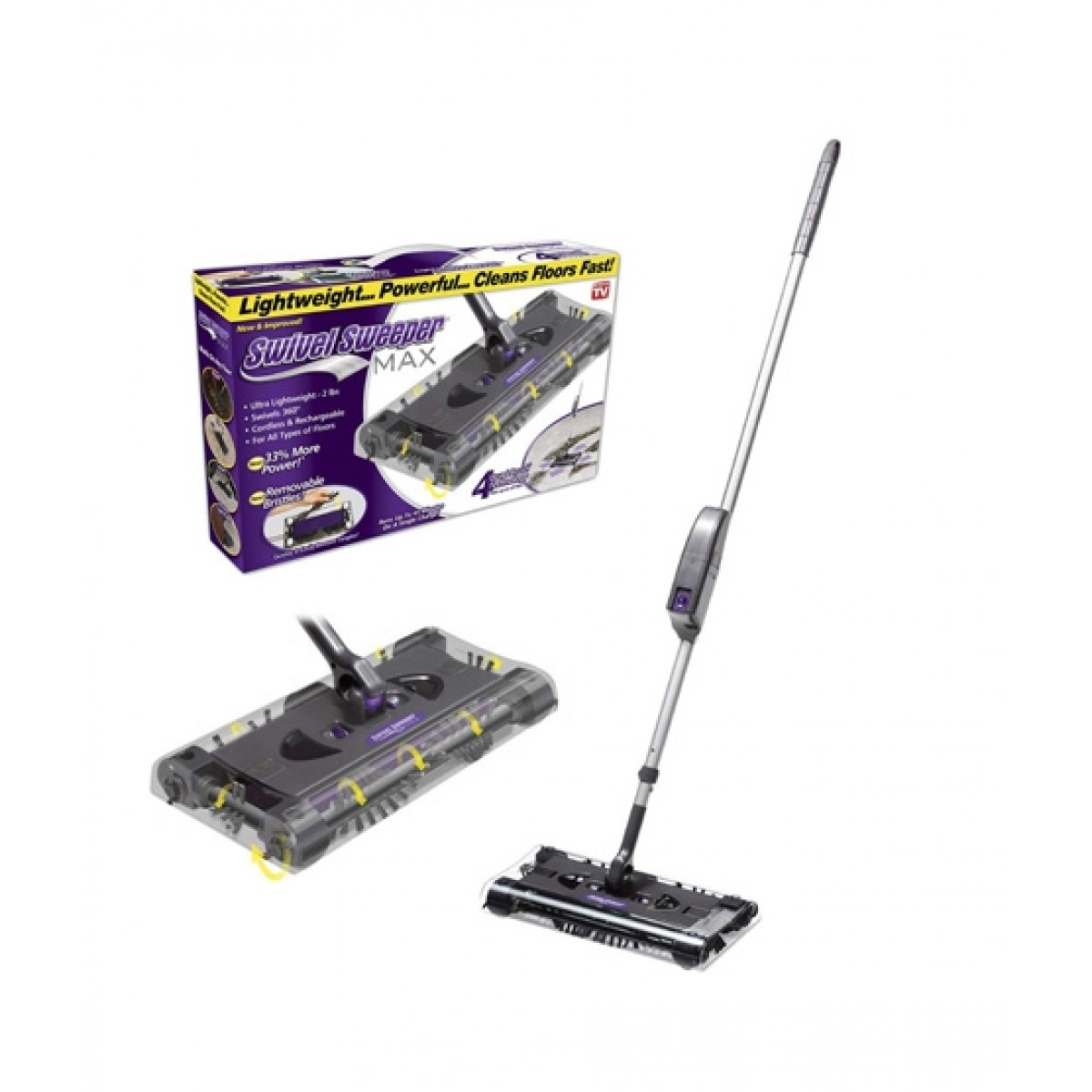Diamonds Mart Lightweight Rechargeable Cordless Sweeper