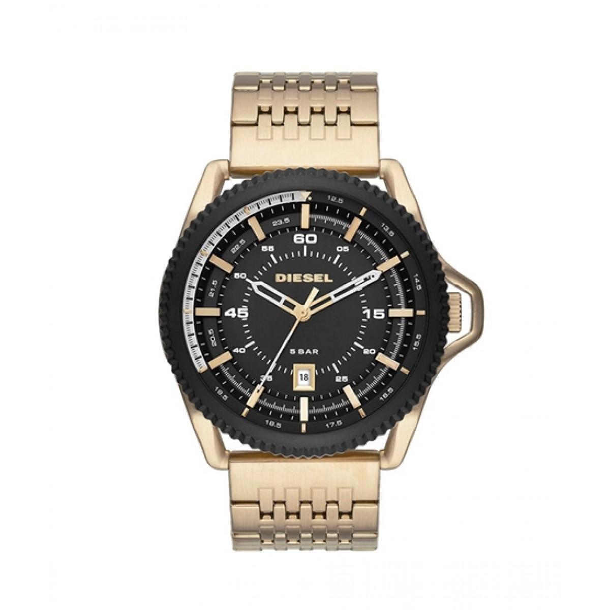 Diesel Rollcage Men's Watch Gold (DZ1789)