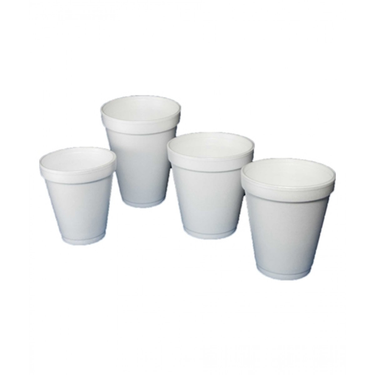 Diyan Disposable Glass Styrofoam Pack Of 50