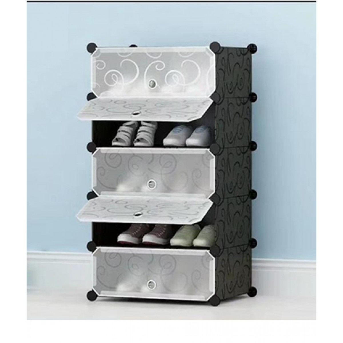 Easy Shop 5 Layer Open Dooor Shoe Rack