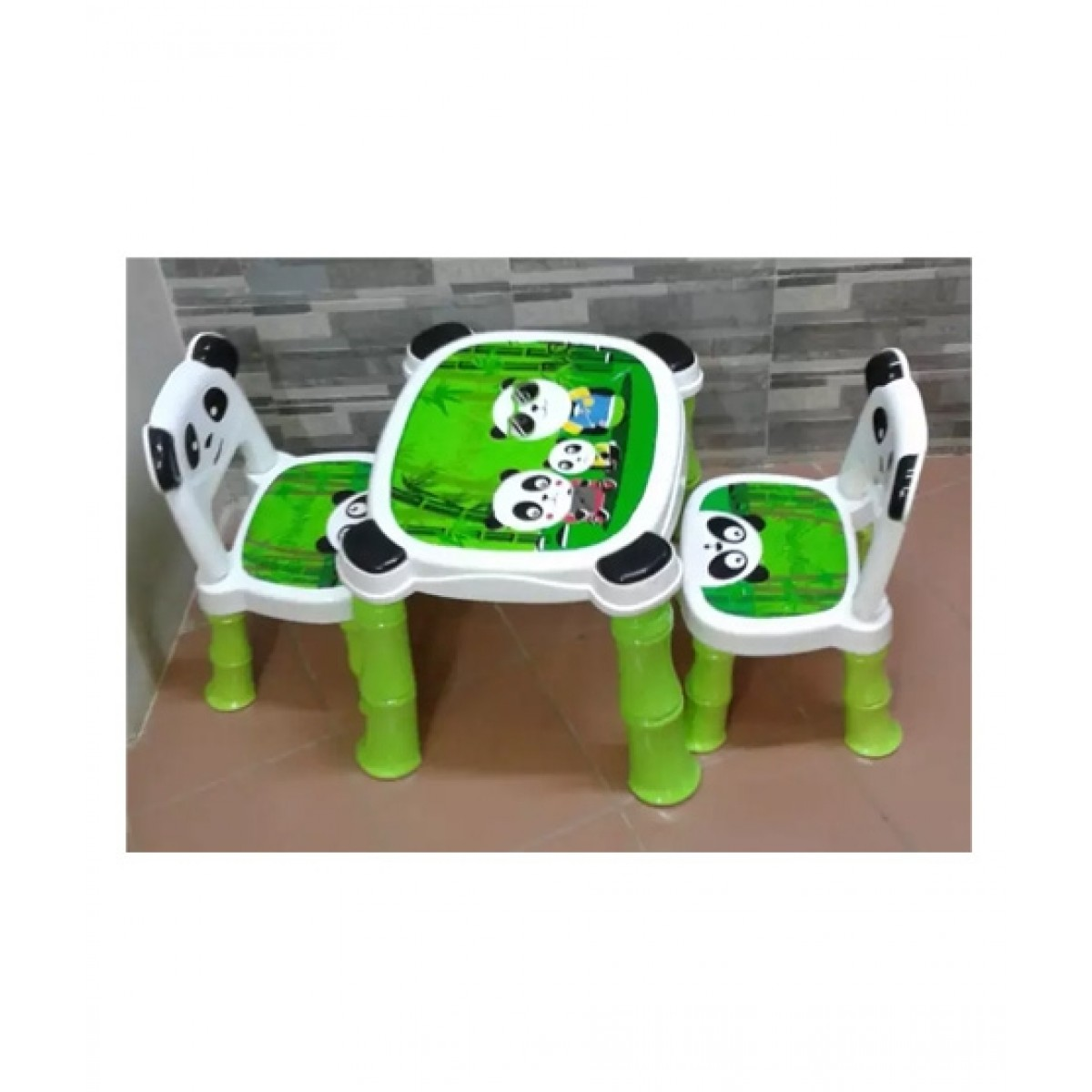 Easy Shop Panda Plastic Fiber Table Chair For Kids Price In