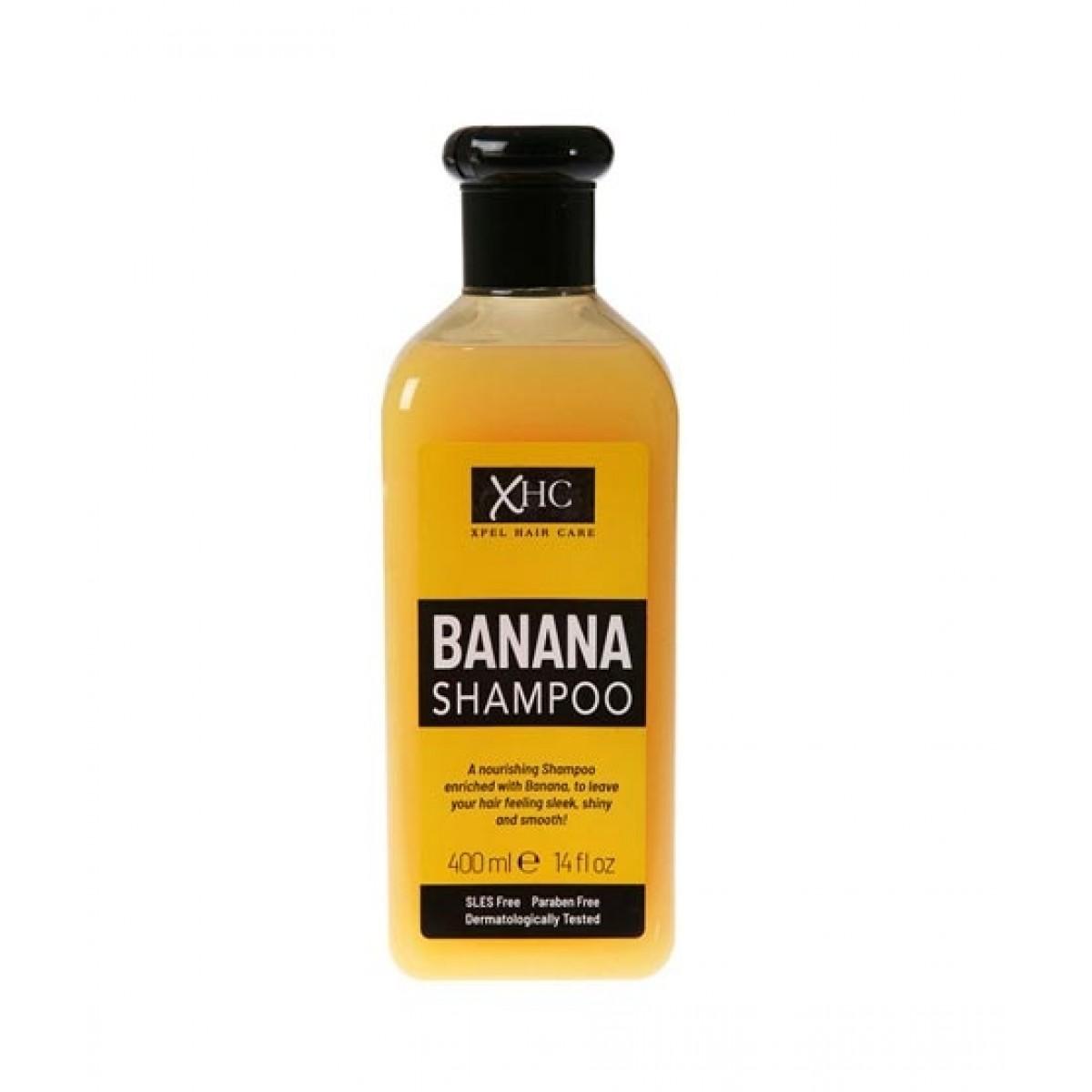 XHC Hair Care Banana Shampoo 400ml
